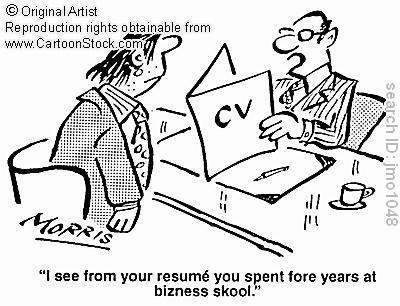 cv #resume #mistake #funny recruiting humor Pinterest Humor - funny resume mistakes