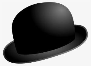 Download Black Hat Charlie Chaplin Bowler Vector Clip Art Clipart Bowler Hat Clipart Png Hd Transparent Png Nicepng Com Chaplin Hat Clips Charlie Chaplin