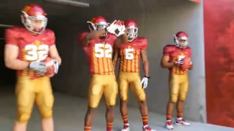 Iowa State Reacts To New Jack Trice Throwback Football Uniforms