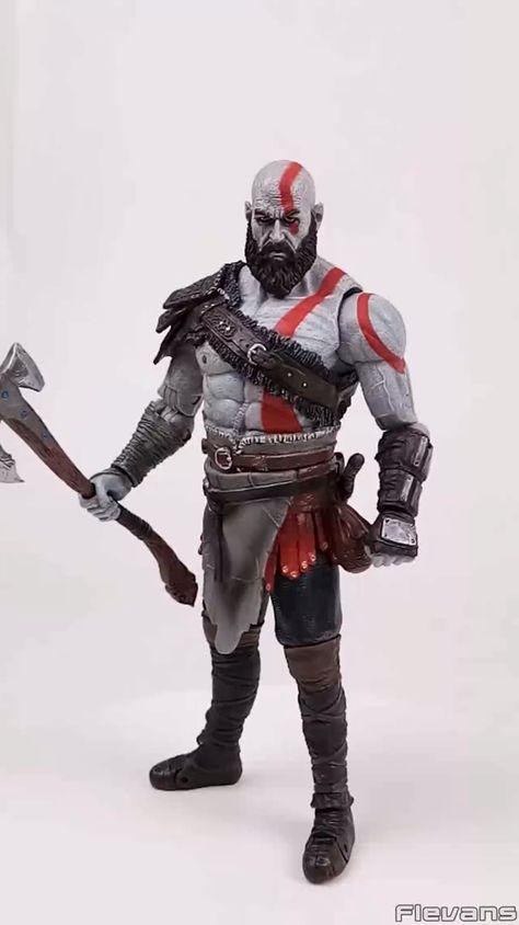 God of War 4 Kratos PVC Action Figure