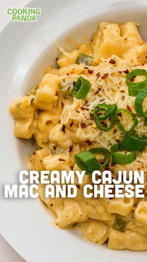 Creamy Cajun Mac & Cheese   Mac & Cheese Recipe