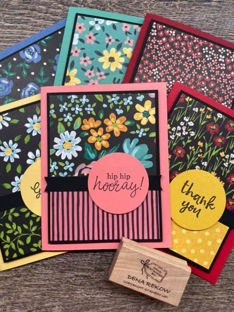 Card Making Templates, Card Making Tutorials, Making Ideas, Card Kit, Stamping Up Cards, Card Sketches, Paper Cards, Flower Cards, Creative Cards
