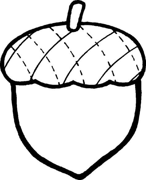 Acorn Coloring Pages Free