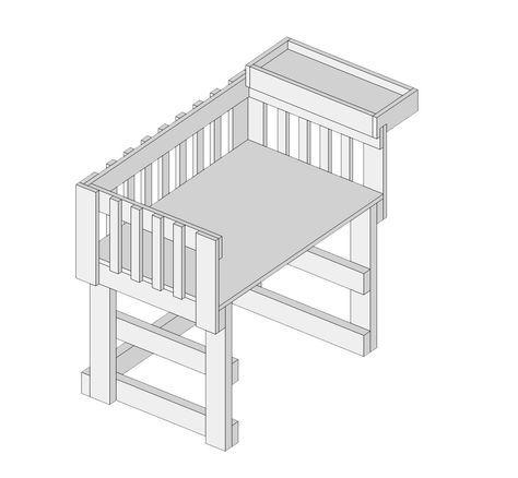 Co Sleeper Plans Co Sleeper Plans Diy Baby Furniture Baby Furniture Co Sleeper Crib