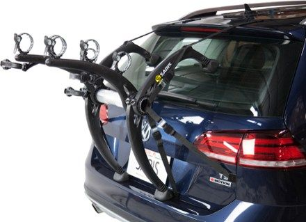 Saris Bones Ex 3 Bike Trunk Rack Black In 2020 Custom Bikes