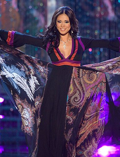 Riyo Mori ( Japan ), Miss Universe 2007 - Evening Gown Competition ...
