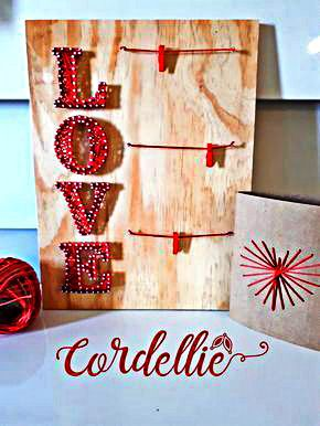Method of Making String Art Letters  #art - You must have seen some beautiful string art projects? If you are also interested in making one on your own, then don`t worry it is really easy. You j...