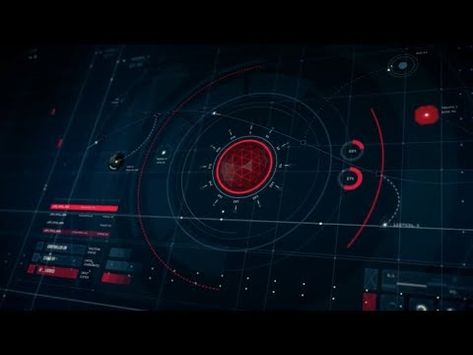 50 Scifi HUD UI Elements Animation - After Effects Template