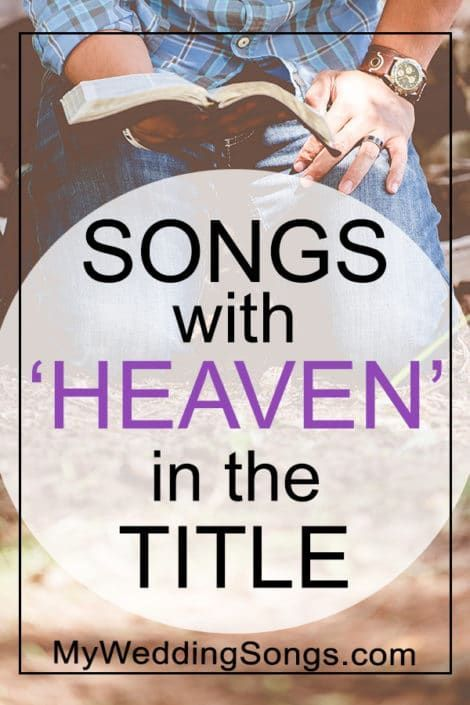 Heaven Songs List Songs With Heaven In The Title With Images