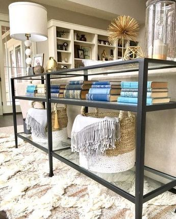 Tanner Long Console Table In 2020 With Images Sofa Table Decor Console Table Decorating Behind Sofa Table