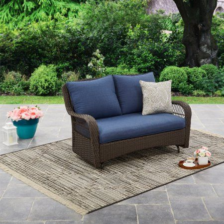 eb3f7e4f22f3979790e6a5e3da9cf763 - Better Homes And Gardens Colebrook Outdoor Glider Bench