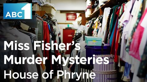 Miss Fisher's Murder Mysteries costume designer Marion Boyce gives you an exclusive look inside Phryne's wardrobe. #MissFisher #PhryneFisher #EssieDavis #MarionBoyce #fashion #style #costume #costumes #1920s #behindthescenes