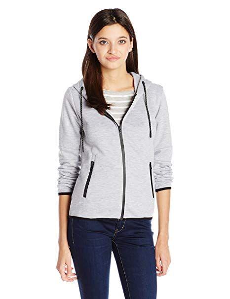 Southpole Juniors Long Sleeve Tech Fleece Basic Hooded Zip