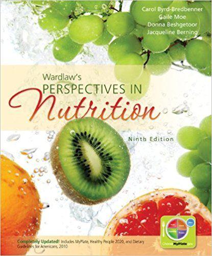 Contemporary Nutrition Wardlaw 9th Ed