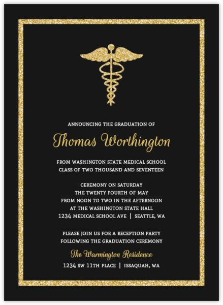 Go Formal With Our Beautiful Double Frame Medical School Graduation Invitation The Features A Cream Background Silver