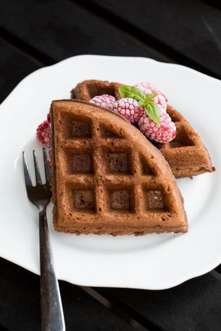 Buttermilk Waffles Momsdish In 2020 Waffle Recipes Chocolate Waffle Recipe Chocolate Waffles