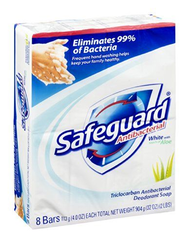 Safeguard Antibacterial Deodorant Soap White With Touch O