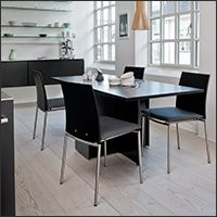 Contemporary And Modern Dining Tables Finely Crafted From Wood Or Other Natural Materials Complementary Chairs Fabric