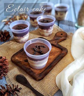 Resep Eclair Cake Dessert Spesial Oleh Yudistira Nirmala Di 2020 Eclair Makanan Resep