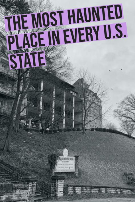 The Most Haunted Place in Every U. State Whether you believe in spirits from beyond or not, the stories of America's most haunted places are sure to give you goosebumps. Oh The Places You'll Go, Places To Travel, Travel Destinations, Places To Visit, Most Haunted Places, Spooky Places, Life Hacks, Ghost Stories, Adventure Is Out There