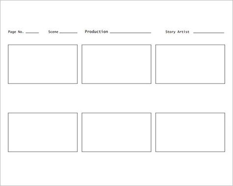 Sample Storyboard Template - 15+ Free Documents Download in PDF - interactive storyboards