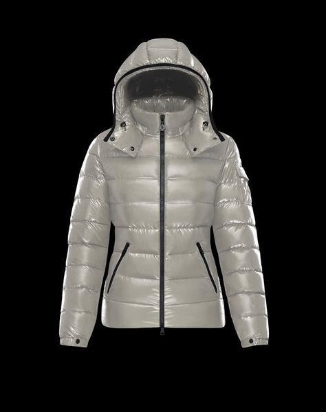 2016 Moncler HERMIFUR Women Down Coat Dove GREY for Sale