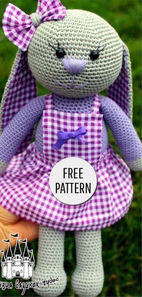 Amigurumi Bunny Free Pattern Haken, Haakpatronen en Patronen