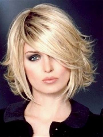 Hairstyle With The Back That Flips Up Wig Mediumbobhairstyles Bob Hairstyles Choppy Bob Hairstyles Layered Bob Haircuts