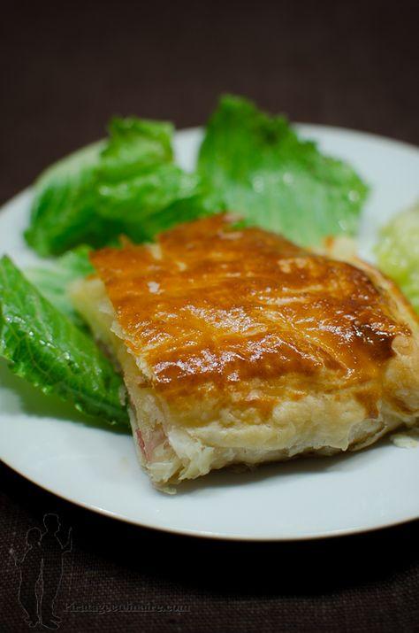 Feuilleté au camembert et au bacon | Piratage Culinaire