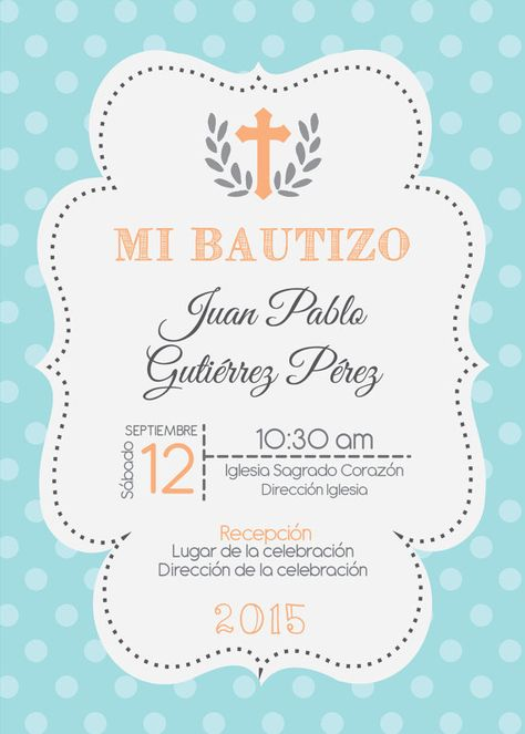 Baptism Invitation Printable Christening Invitations