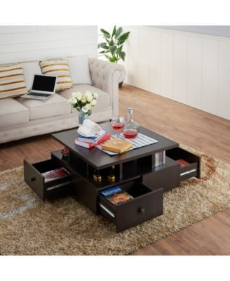Furniture Of America Murry Square Coffee Table Reviews Home