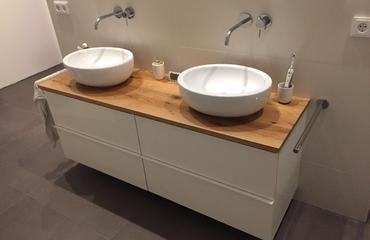 Waschtischplatten Aus Holz Mit Unterschrank In Gronau