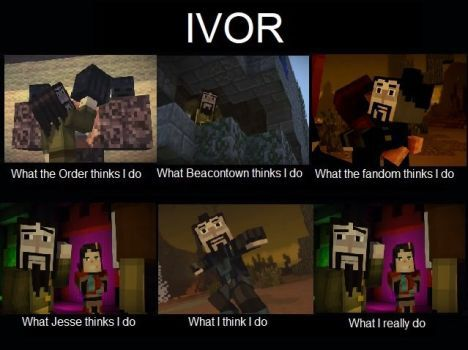 Ivor Is The Best Character In The Game Minecraft Funny
