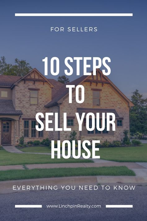 10 Steps to Sell Your House