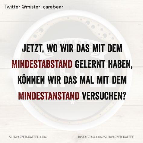 MINDESTANSTAND — SCHWARZER-KAFFEE