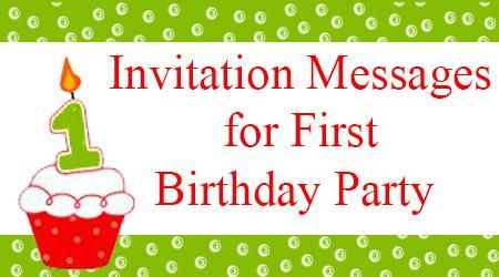 The invitations for the first birthday party can be sent through the invitations for the first birthday party can be sent through text messages or through invitation stopboris Images