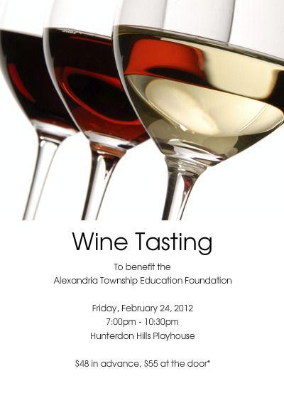 Pin On Wine Tasting Invitations