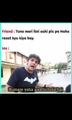 Funny Memes In Hindi Status Download For Whatsaap And Facebook Statuspictures Com Statuspictures Com Funny Jokes In Hindi Funny Fun Facts Fun Quotes Funny