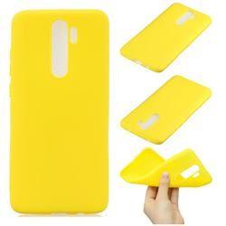 Candy Soft Silicone Protective Phone Case For Mi Xiaomi Redmi Note 8 Pro Yellow Xiaomi Redmi Note 8 Pro Cases Guuds Phone Cases Protective Xiaomi Soft Silicone