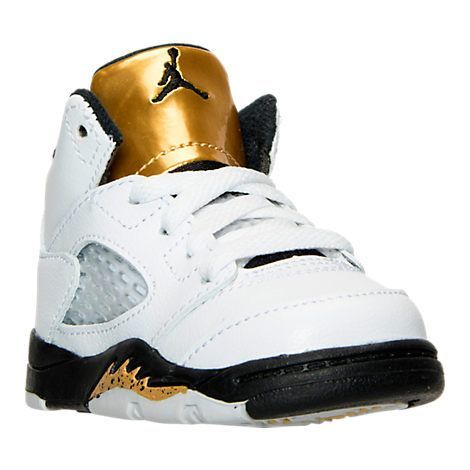9c3bfb9c4a7778 Boys Toddler Air Jordan Retro 5 Basketball Shoes - 440890B 133 ...