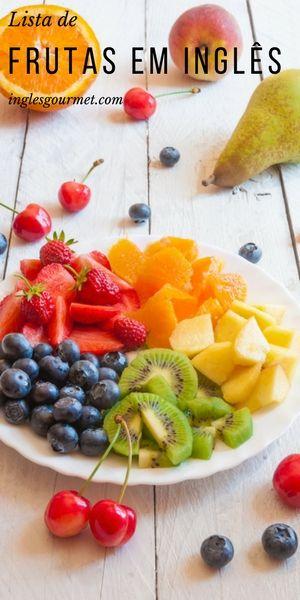 Fruits Lista De Frutas Em Ingles Frutas Em Ingles Drinks