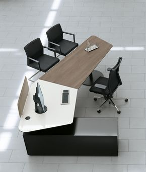 T Front Office Designer Individual Desks From Bene All