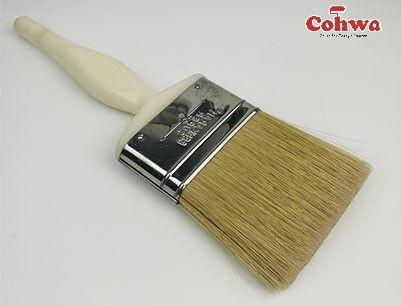 Natural Paintbrushes Good Quality Bristle 999 Paint Brushes 100 White China Bristle Plastic Handle Individually Wr Paint Brushes Flat Paint Paint Roller