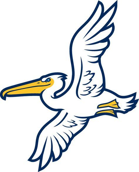 Myrtle Beach Pelicans Alternate Logo 2007 Sports Logo Inspiration Pelican Art Sports Team Logos