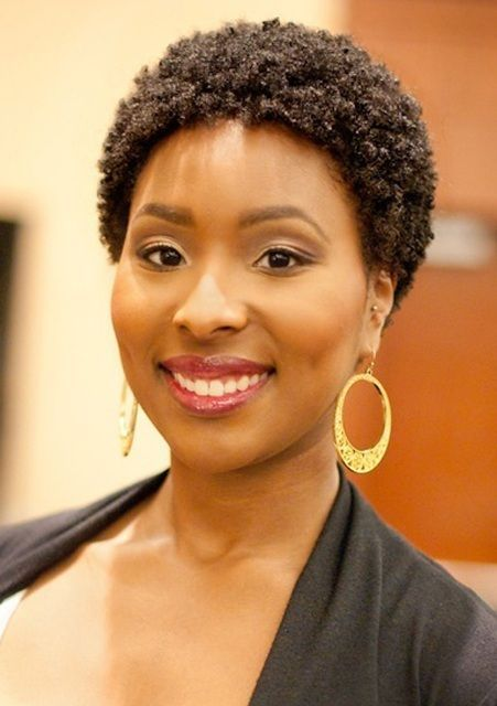 African American Natural Short Hairstyles Fur Frauen Com
