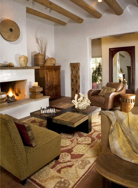 Santa Fe, New Mexico, USA | Southwest Style | Pinterest | Santa Fe, Santa  And Living Rooms