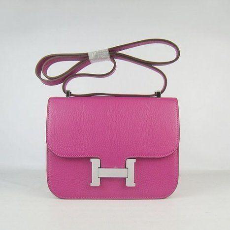 la moitié 5e619 e2c6b Wholesale Réplique Hermes Mini Constance sac Rhodo Togo en ...