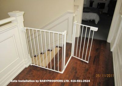 Baby Gates Photo Gallery Baby Proofing Specialists Toronto Baby Gates Baby Proofing Baby Gate For Stairs