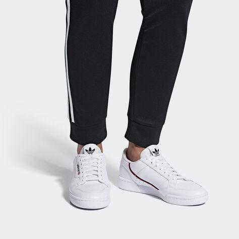 ADIDAS ORIGINALS Sneaker 'CONTINENTAL 80' Damen, Navy / Rot ...