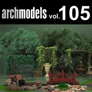 Download evermotion free archmodels 152 collection of 76 lamp.